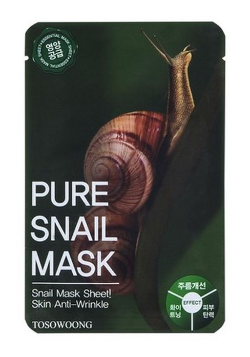 Tosowoong Pure Snail Sheet Mask
