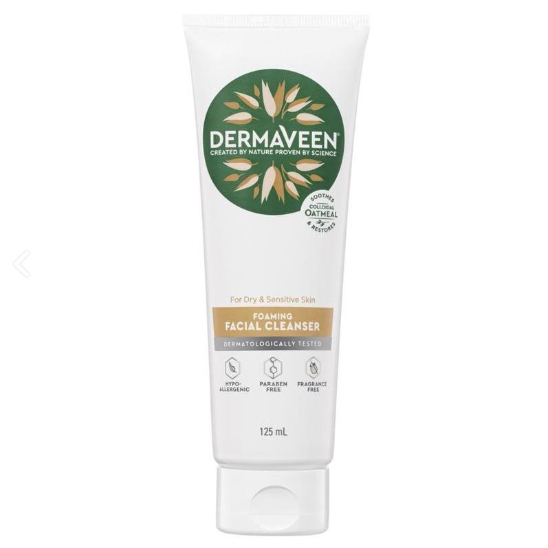 DermaVeen Foaming Facial Cleanser