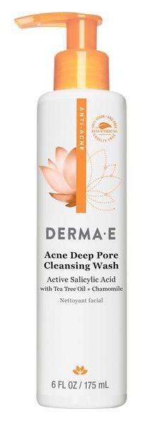 Derma E Acne Deep Pore Cleansing Wash