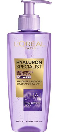L'Oreal Paris Hyaluron Specialist Replumping Purifying Gel Wash