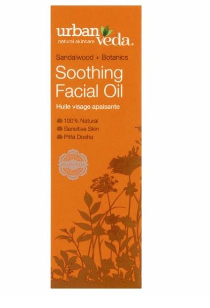 Urban Veda Sandalwood + Botanics Soothing Facial Oil