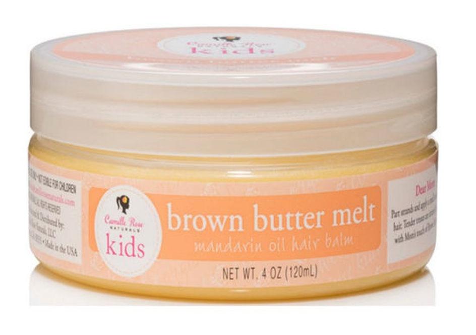 Camille Rose Naturals Kids Brown Butter Melt Mandarin Oil Hair Balm