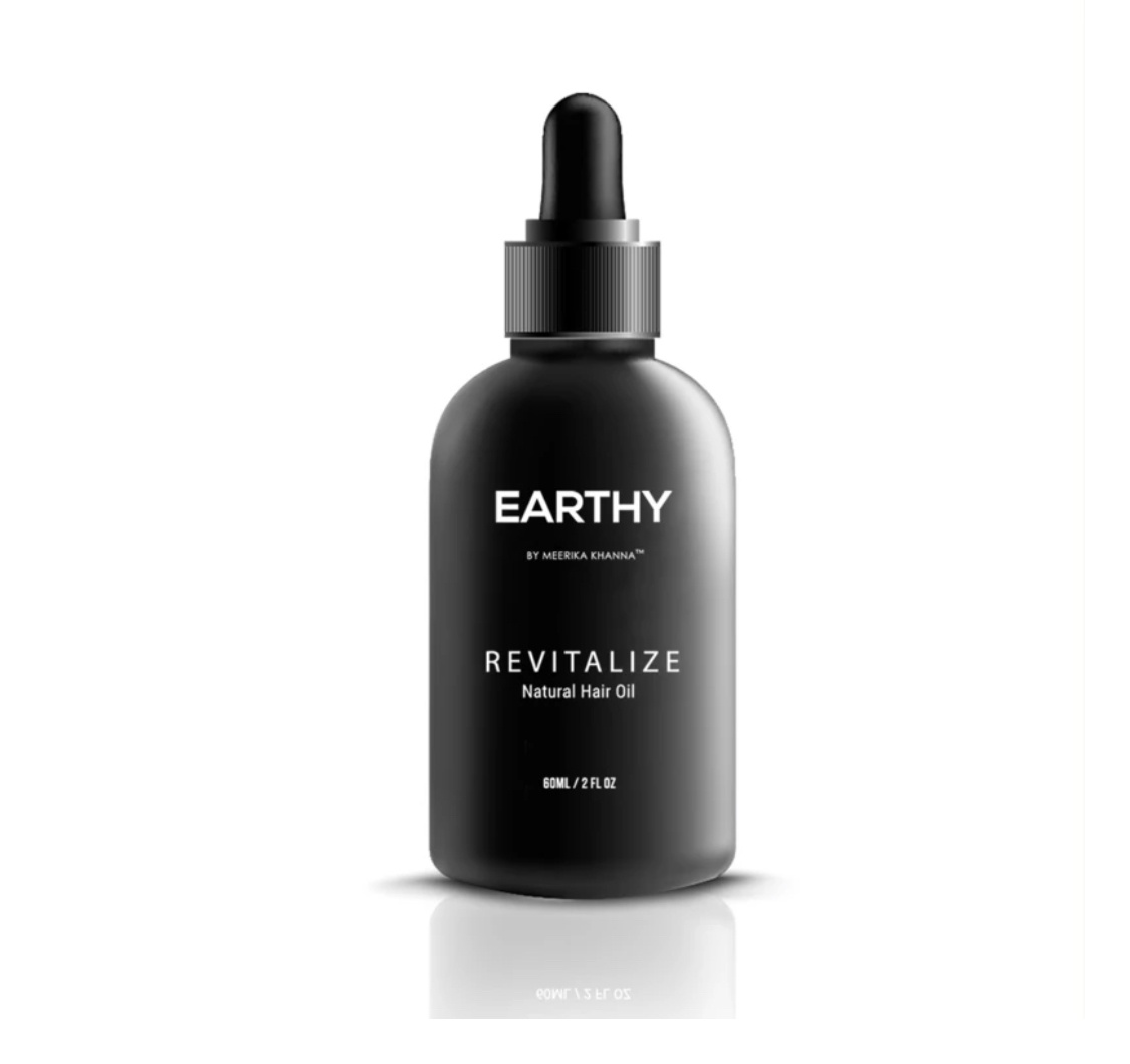 Earthy Revitalize Natural Hair Growth Oil Treatment