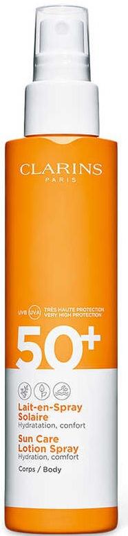 Clarins Sun Care Body Lotion-In-Spray UVA/UVB 50+