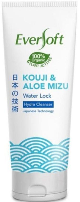 Eversoft Kouji & Aloe Mizu Water Lock Hydra Cleanser