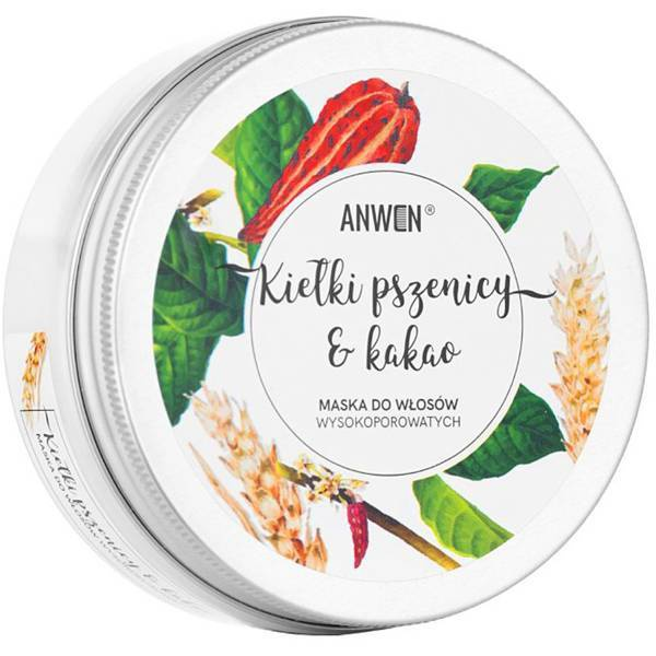 Anwen Mask For Highly-porous Hair Wheat Sprouts And Cocoa