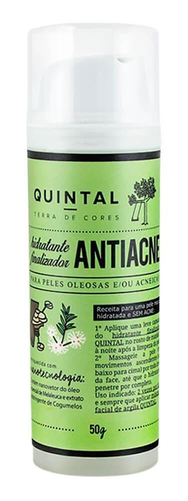 Quintal Fluido Hidratante Finalizador Antiacne