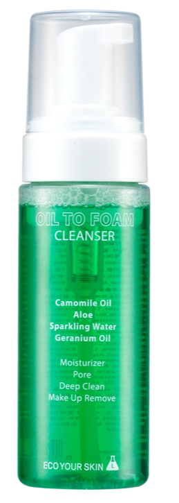 ECO YOUR SKIN Oil To Foam Cleanser