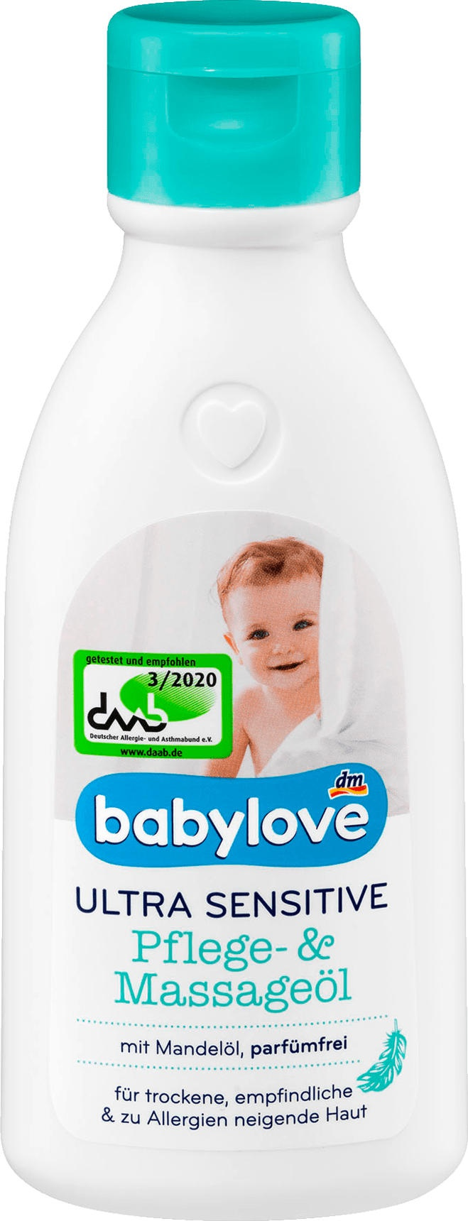 Babylove Ultra Sensitiv Pflege- Und Massageöl