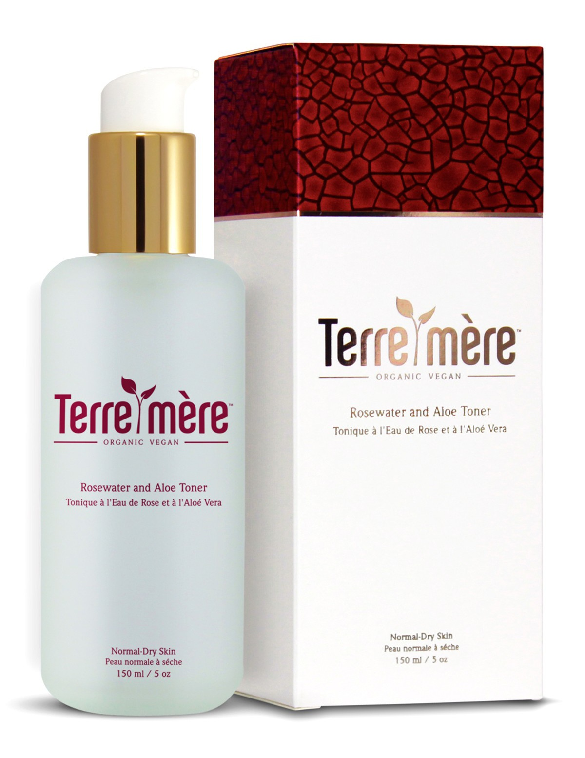 Terre mere Rosewater and aloe toner