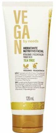 needs Hidratante Nutritivo Facial Vegan By Needs Tea Tree Toque Seco Sem Fragrância