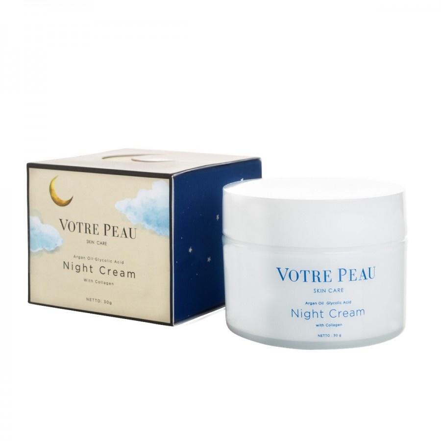 Votre Peau Skin Care Collagen Booster Night Cream