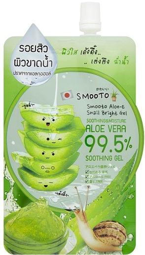 Smooto Aloe-E Snail Bright Gel