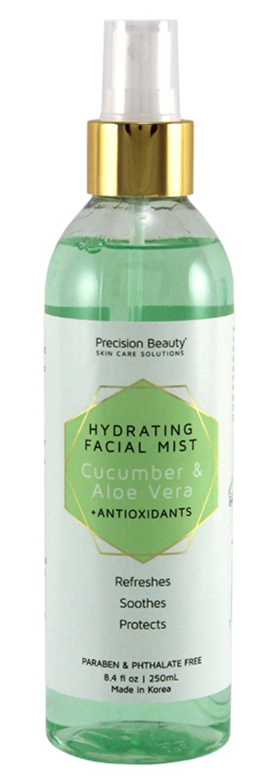 Precision Beauty Cucumber And Aloe Face Mist