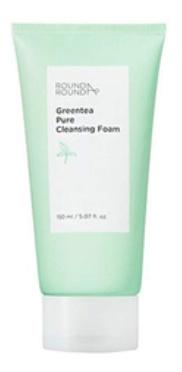 Round A'Round Greentea Pure Cleansing Foam