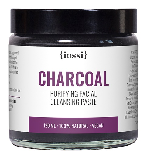 IOSSI Charcoal. Purifying Facial Cleansing Paste