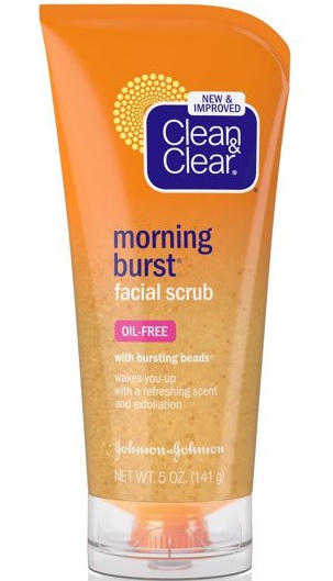 Clean & Clear Morning Burst Facial Scrub Oil-free (Without Plastic)