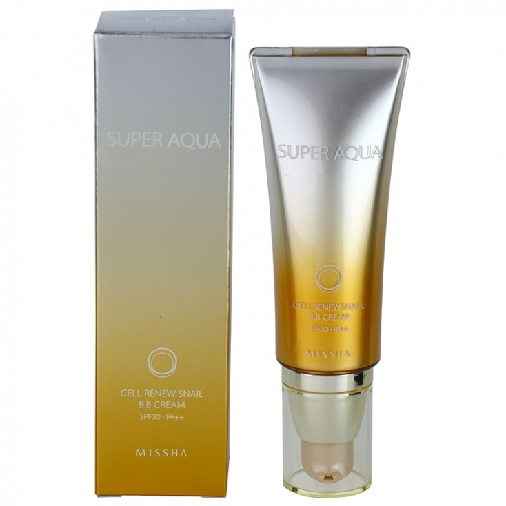 Missha Super Aqua Cell Renew Snail B.B. Cream Spf 30 Pa++