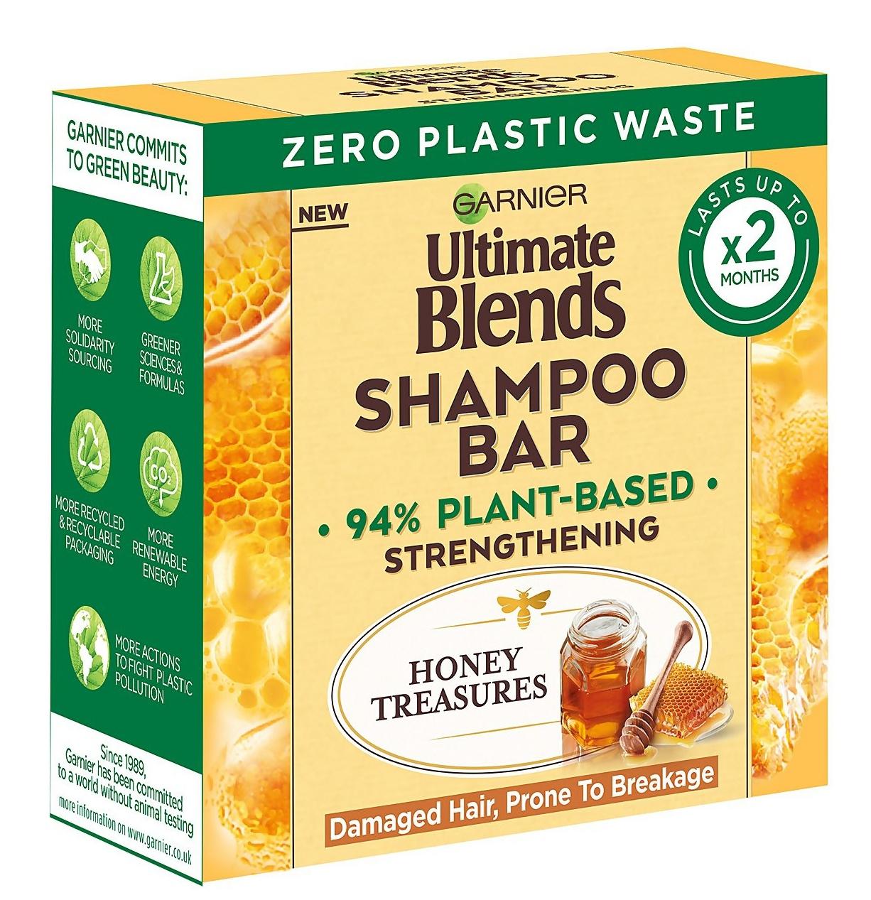 Garnier Ultimate Blends Honey Treasures Shampoo Bar