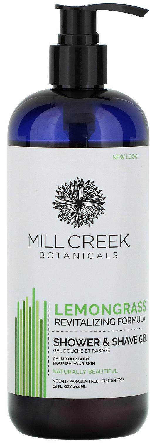 Mill Creek Botanicals Lemongrass Shower & Shave Gel