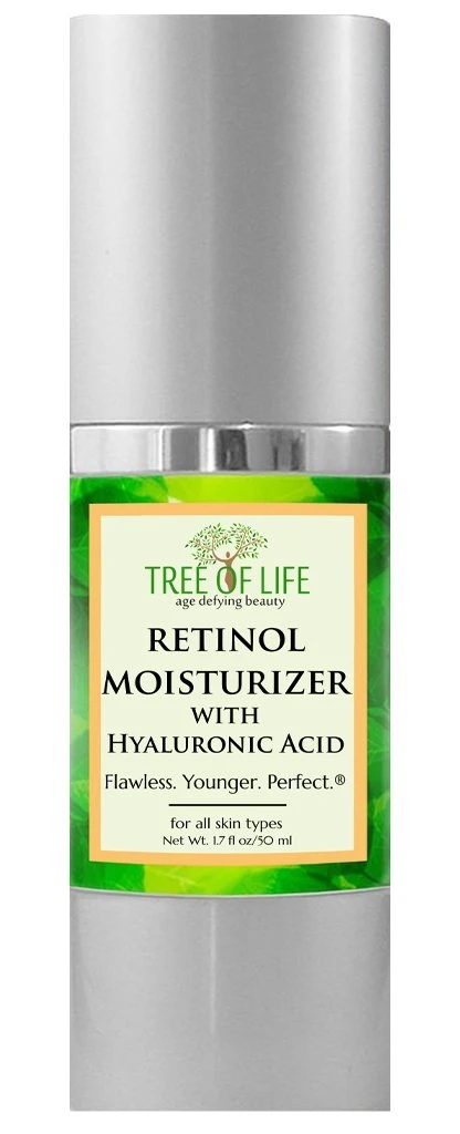 Tree of Life Retinol Moisturizer With Hyaluronic Acid