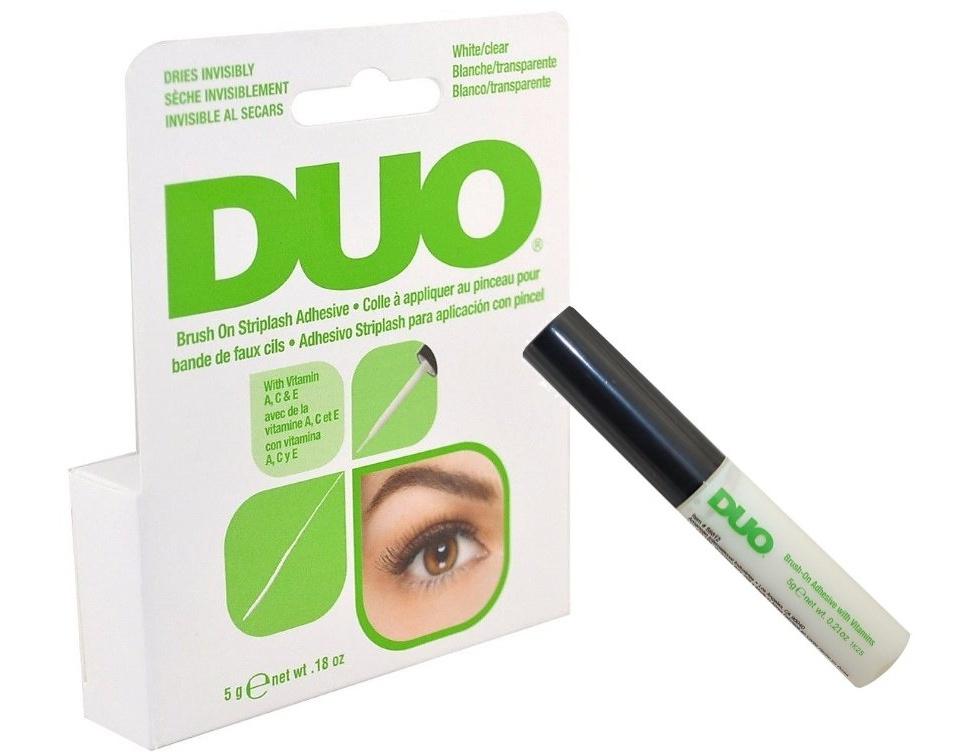 duo Brush On Striplash Adhesive White/Clear