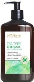Spa Pharma Tea Tree Shampoo With Mint Oil And Shea Butter
