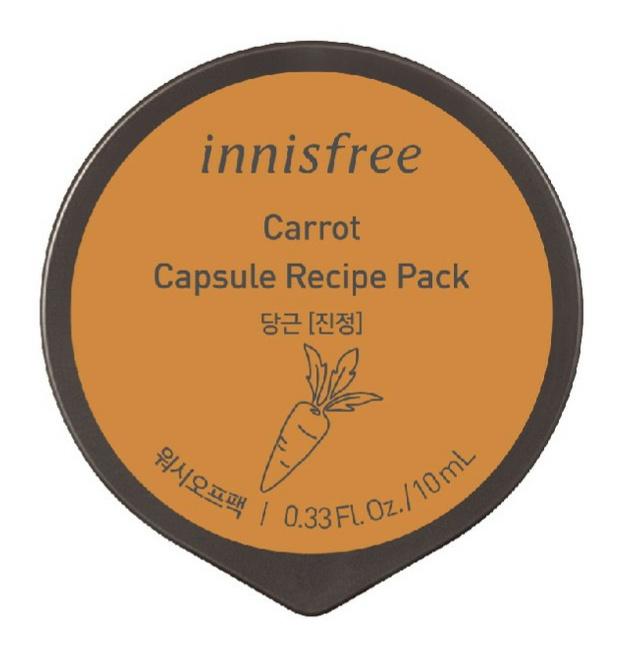 innisfree Carrot Capsule Recipe Pack