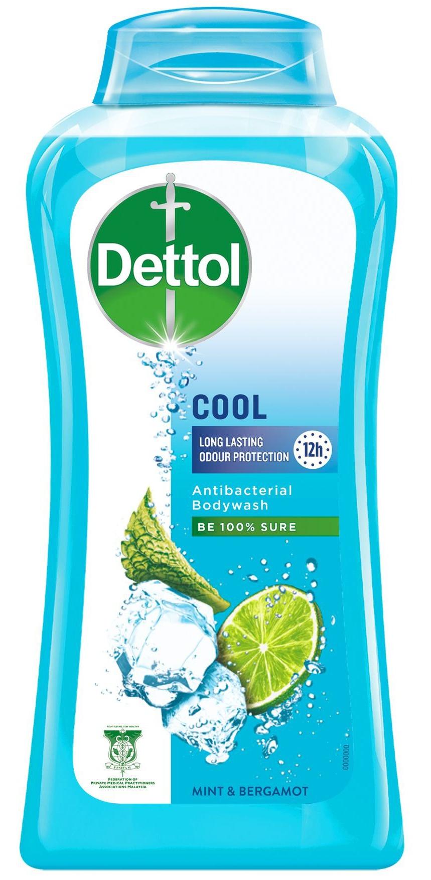 Dettol Cool Antibacterial Bodywash