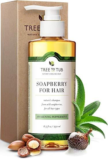 Tree to Tub Organic Argan Shampoo For Oily Hair