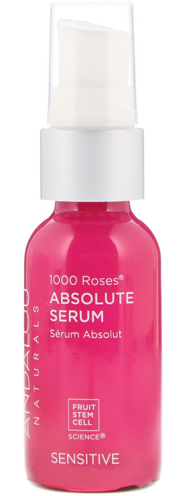 Andalou Naturals 1000 Roses Absolute Serum, Sensitive