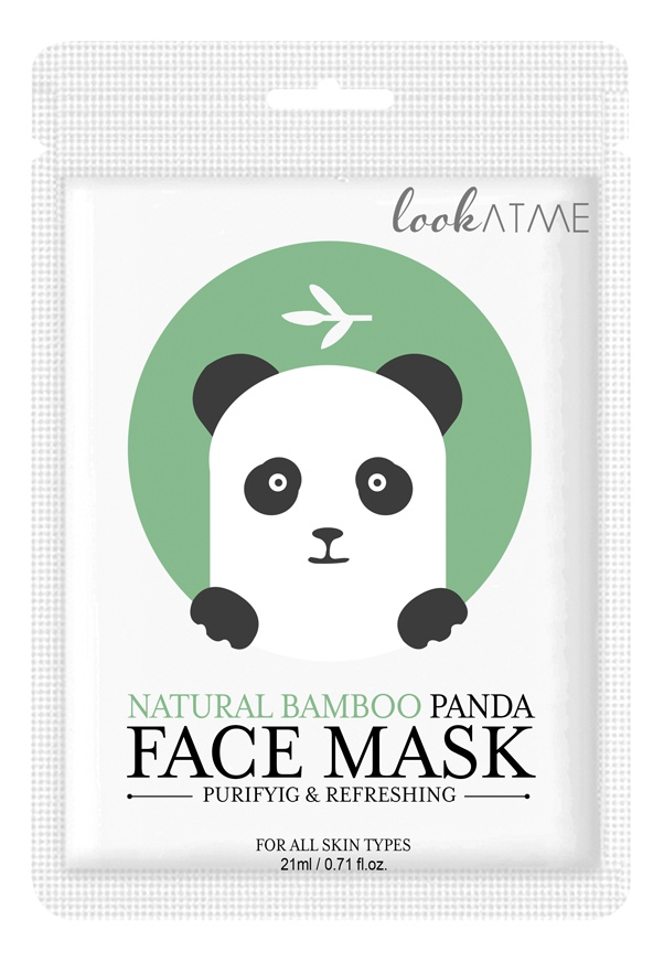 Lookatme Natural Bamboo Panda Face Mask