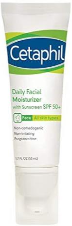 Cetaphil Daily Facial Moisturizer Broad Spectrum Spf50, Fragrance Free