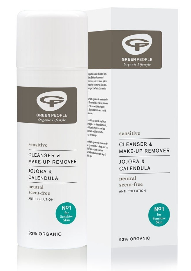 Green People Scent Free Cleanser & Make-Up Remover
