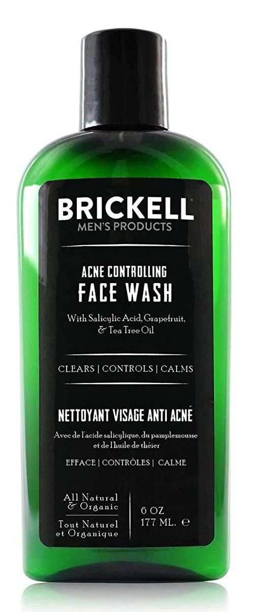 Brickell Men's Products Acne Controlling Face Wash