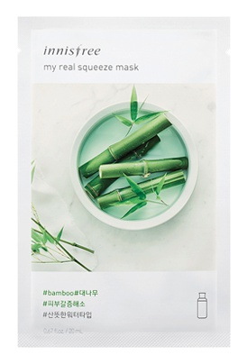 innisfree My Real Squeeze Mask Bamboo