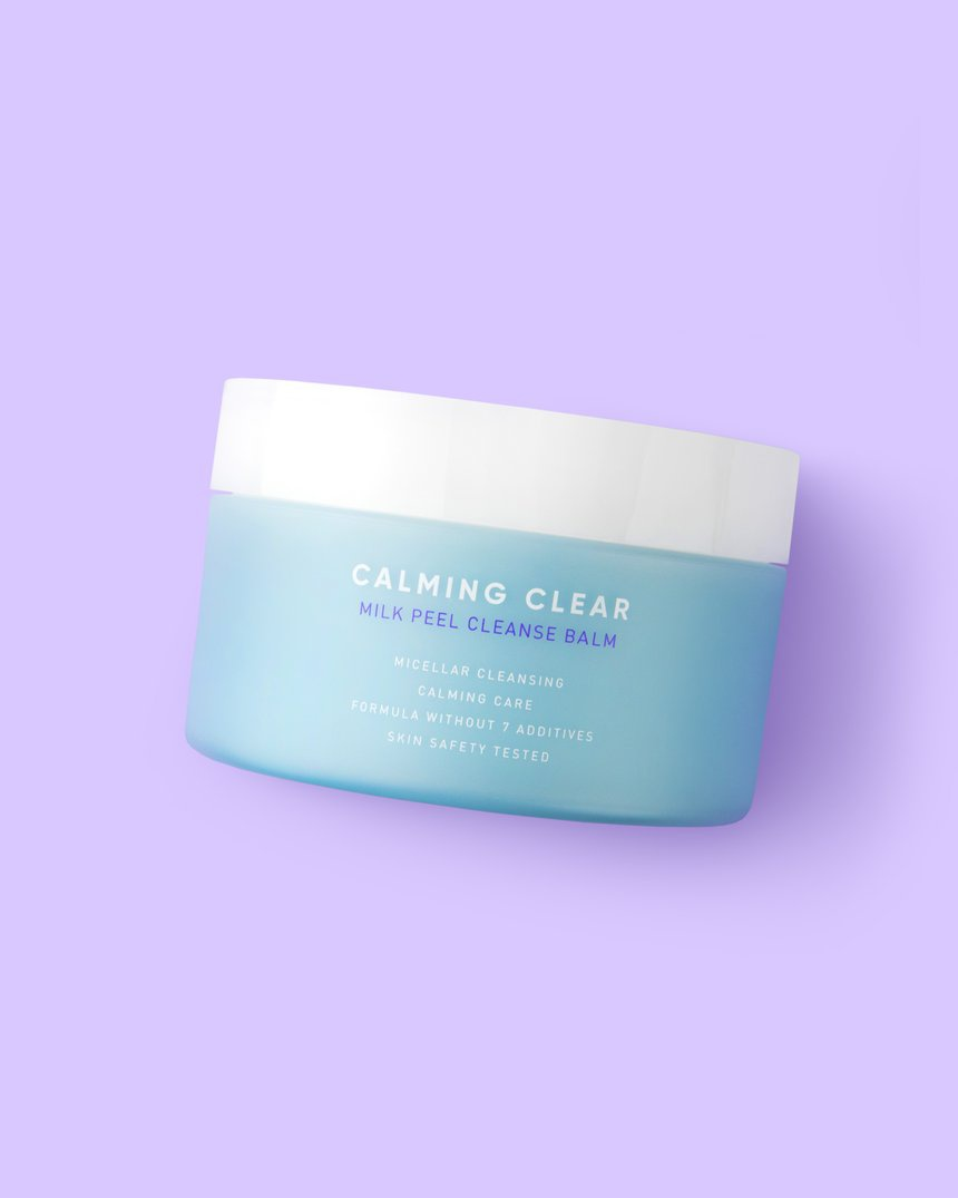 Leaders Calming Clear Milk Peel Cleansing Balm