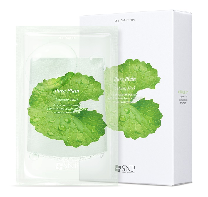 SNP Pure Plain Calming Mask