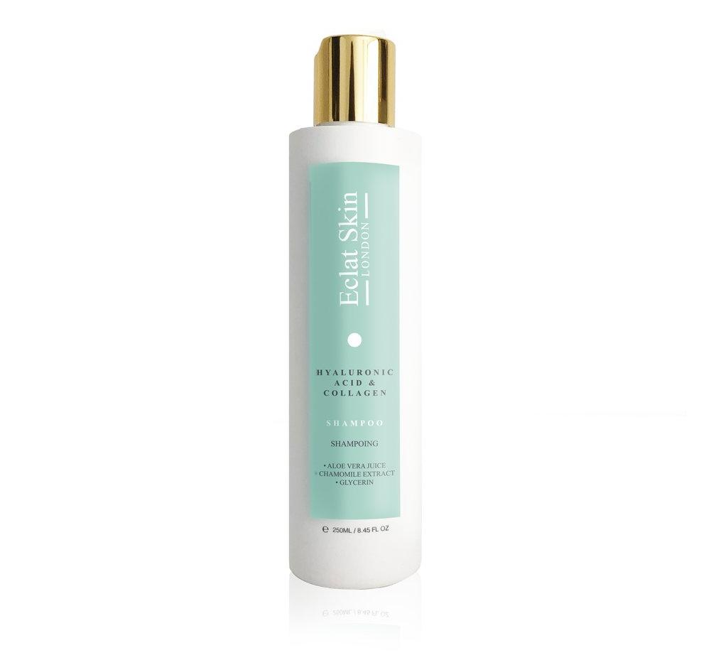 Eclat Skin London Collagen & Hyaluronic Acid Shampoo