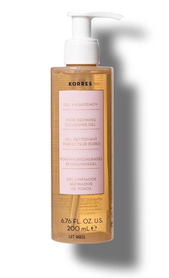 Korres Pomegranate Pore Refining Cleansing Gel