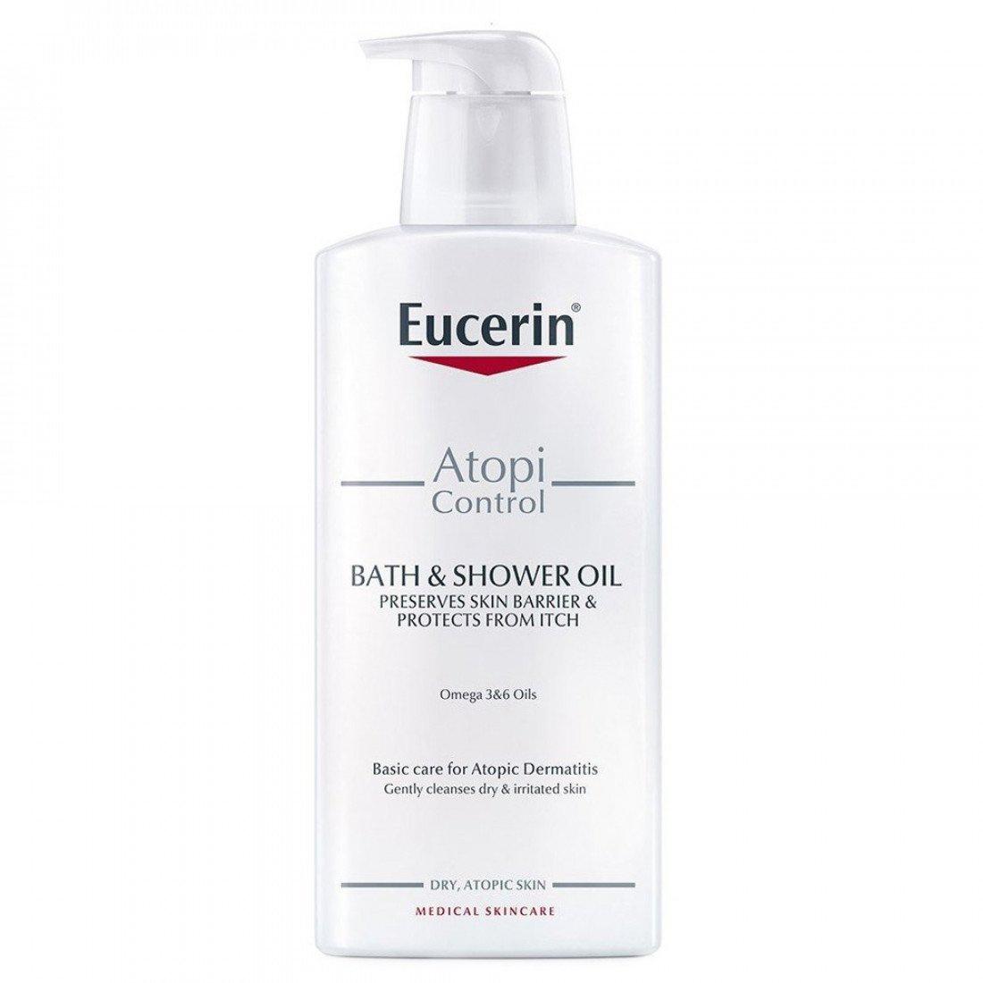 Eucerin Atopicontrol Bath & Shower Oil
