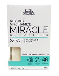 Luxe Organix Miracle Soap For Face & Body