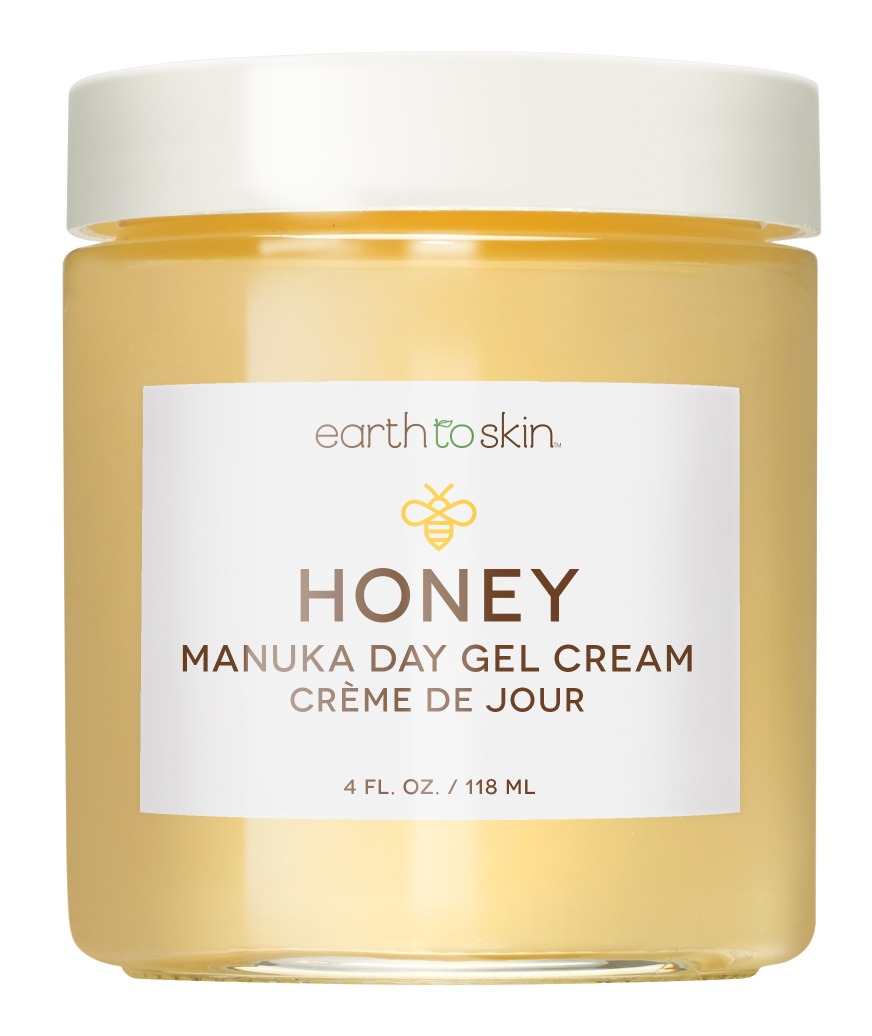Earth To Skin Honey Manuka Calming Day Gel Cream