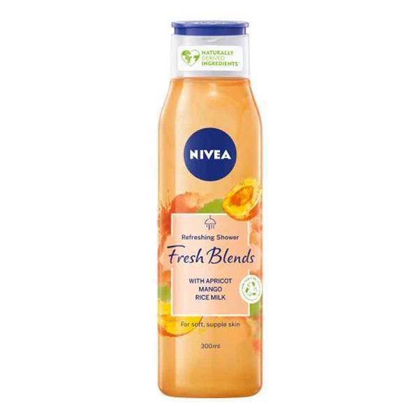Nivea Fresh Blends Apricot, Mango & Rice Milk Shower Gel