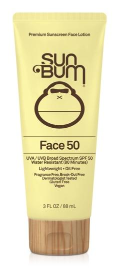 Sun Bum Sunscreen Face Lotion SPF 50