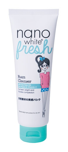 Nanowhite Fresh Foam Cleanser