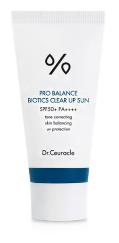 Dr. Ceuracle Pro Balance Biotics Clear Up Sun SPF 50