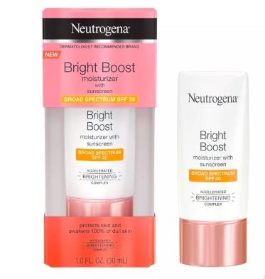 Neutrogena Bright Boost Moisturizer - Spf 30
