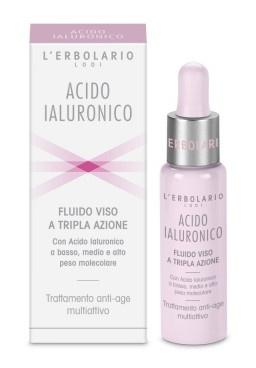 L'Erbolario Triple Action Face Fluid Hyaluronic Acid