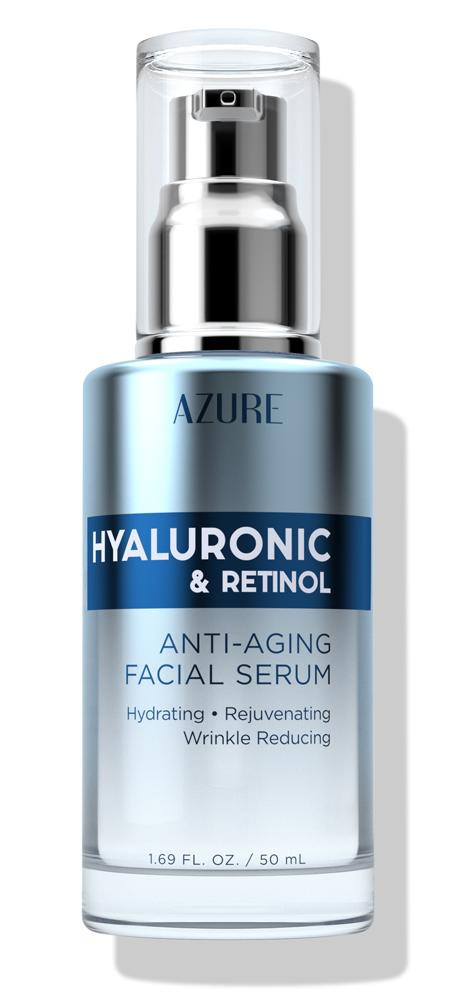 Azure Skincare Hyaluronic And Retinol Facial Serum